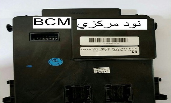 نود BCM سه فیش