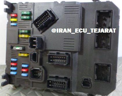 یونیت کنترل BSI در سیستم برق مالتی پلکس فرانسوی
