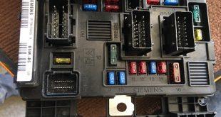 جعبه فیوز 206 در سیستم برق مالتی پلکس فرانسوی